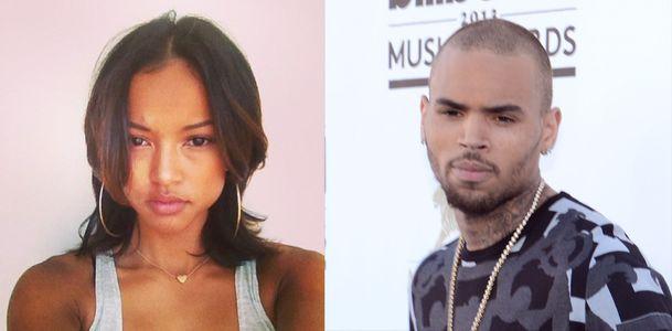 Karrueche Tran et Chris Brown