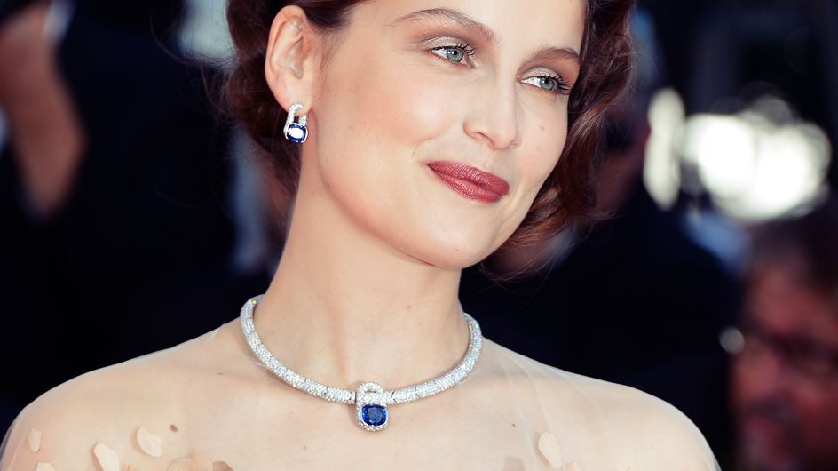 Festival de Cannes 2013 : L'étrange robe-oiseau de Laetitia Casta (photos)