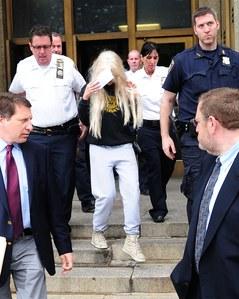Amanda Bynes à sa sortie du tribunal