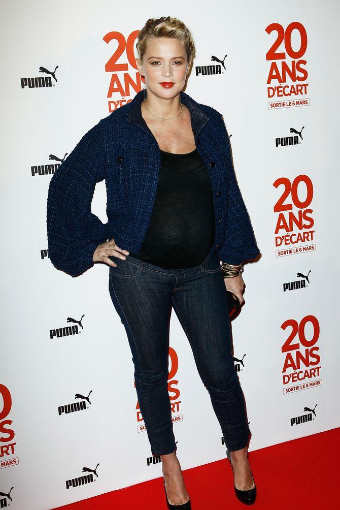 Virginie Efira enceinte