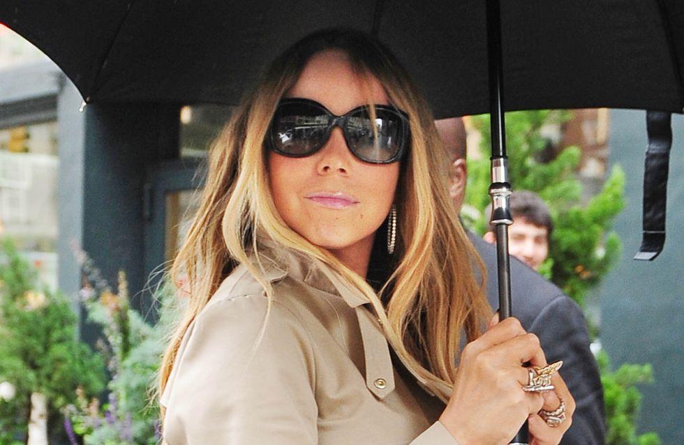 Mariah Carey : Sa robe craque en plein direct (vidéo)