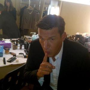 Benjamin Castaldi en plein tournage pour SS7