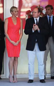 Charlène de Monaco lors du Grand Prix de Monaco le 26 mai 2013