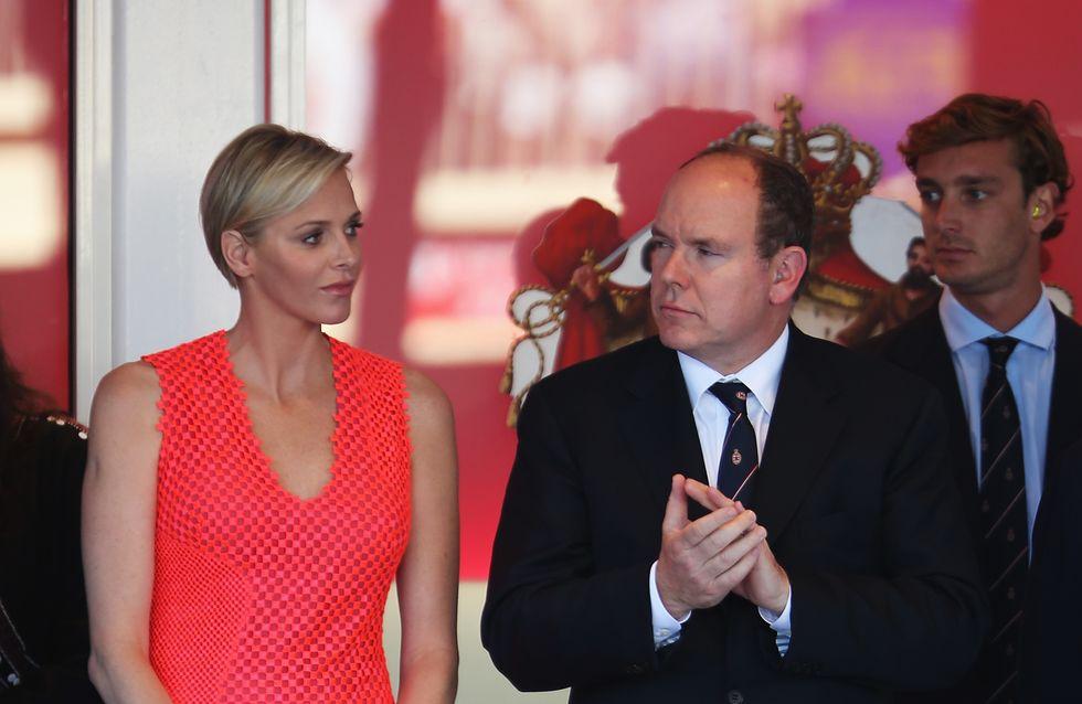 Charlène de Monaco : Elle ose la robe fluo au Grand Prix de Monaco (Photo)