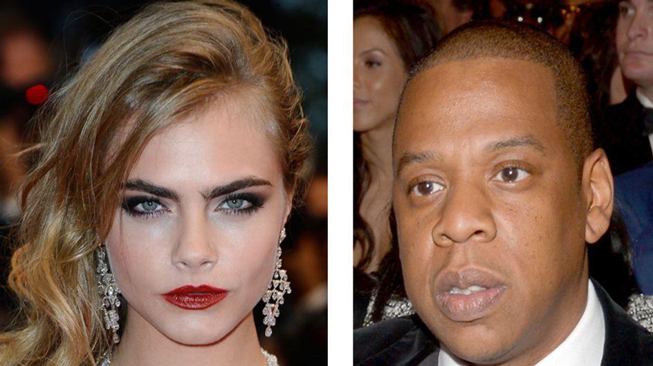 Cara Delevingne veut devenir chanteuse avec l'aide de Jay-Z