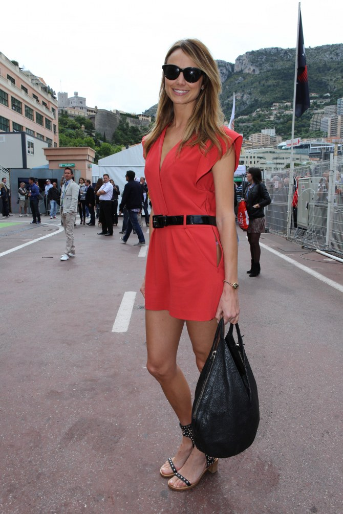 Stacy Keibler au Grand Prix de Monaco