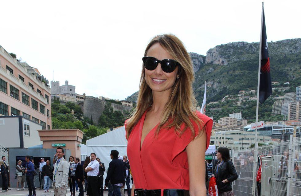 Stacy Keibler : Quand la petite-amie de Georges Clooney oublie de fermer sa robe... (Photos)