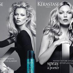 Kate Moss for Kérastase hair styling range