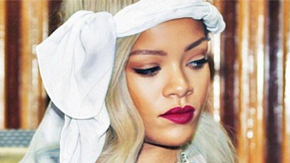 Rihanna est à nouveau blonde ! (Photo)