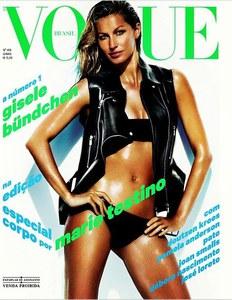 Gisele Bündchen : Ses photos sexy pour Vogue Brasil
