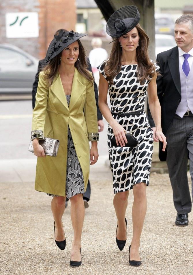 Pippa Middleton et Kate Middleton