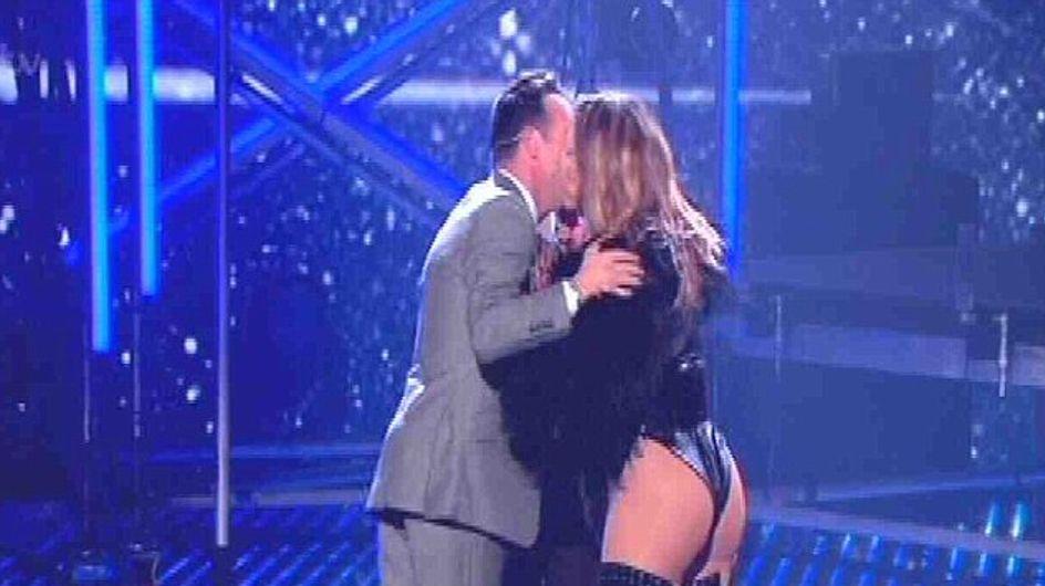 Jennifer Lopez rocks leather look on Britain's Got Talent