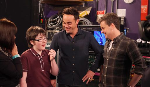 Jack Carroll with Ant and Dec