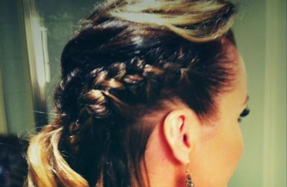 Get the look: Amanda Holden's braided hairstyle