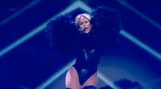 Jennifer Lopez dans Britain's Got Talent