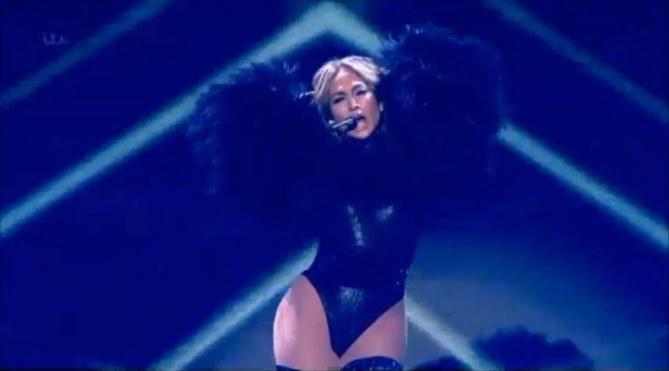 Jennifer Lopez dans Britain's Got Talent
