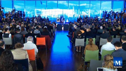 La mairie de Montpellier est pleine