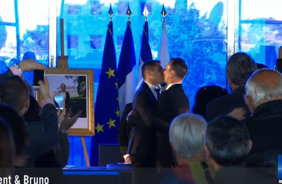Montpellier : Le premier mariage gay a été célébré (Photos)