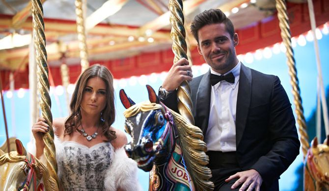 Louise Thompson and Spencer Matthews