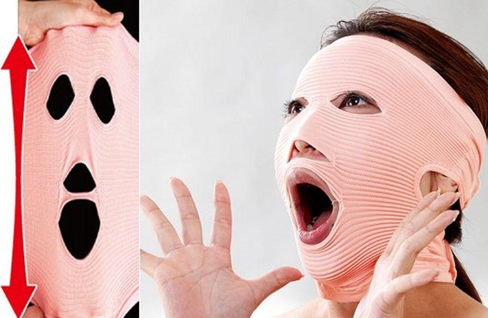 Le masque anti-rides le plus flippant jamais inventé