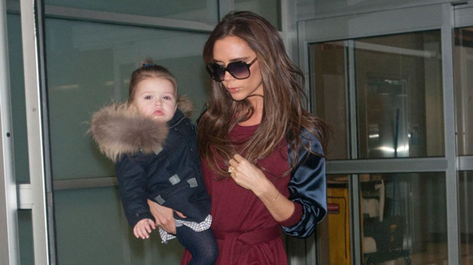 "Victoria Beckham won't allow ""tomboy"" Harper see her applying make-up"