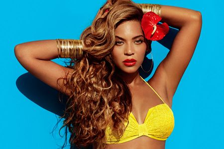 Beyonce modelling for H&M