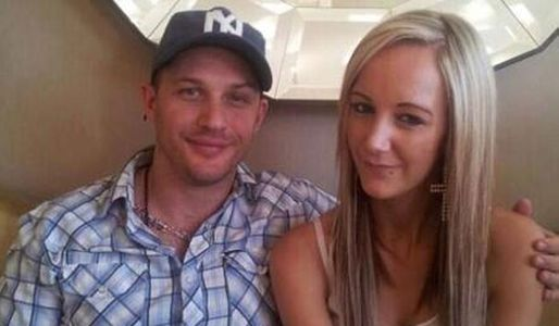 Tom Hardy with Kaleigh Duff