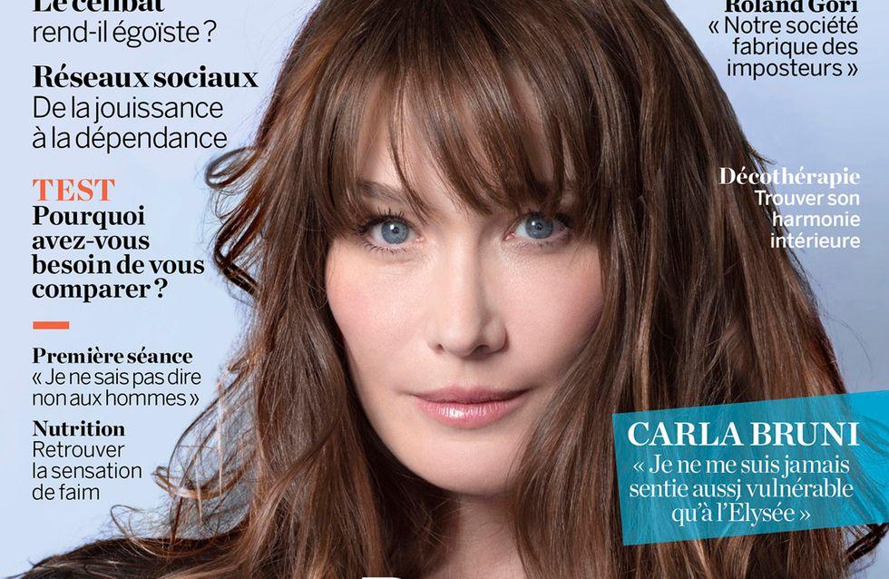 """Carla Bruni-Sarkozy : """"La chirurgie esthétique ça fait une tête curieuse"""""""
