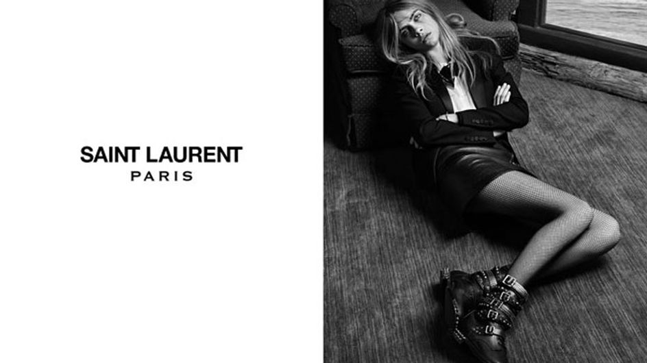 Cara Delevingne stars in new Saint Laurent campaign