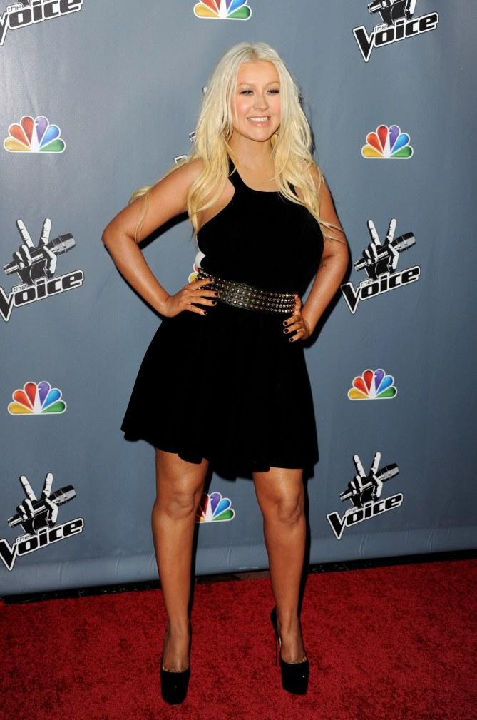 Christina Aguilera a minci