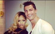 Rihanna et Cristiano Ronaldo : Complices en coulisses (Photos)