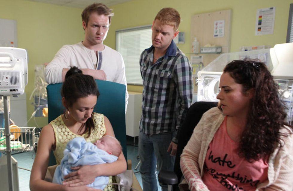 Coronation Street 10/06 - Tina vows to keep baby Jake