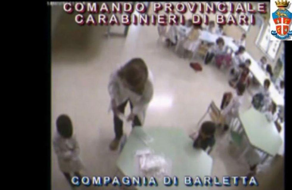 Italie : Une maîtresse maltraitant ses élèves, arrêtée grâce à une vidéosurveillance