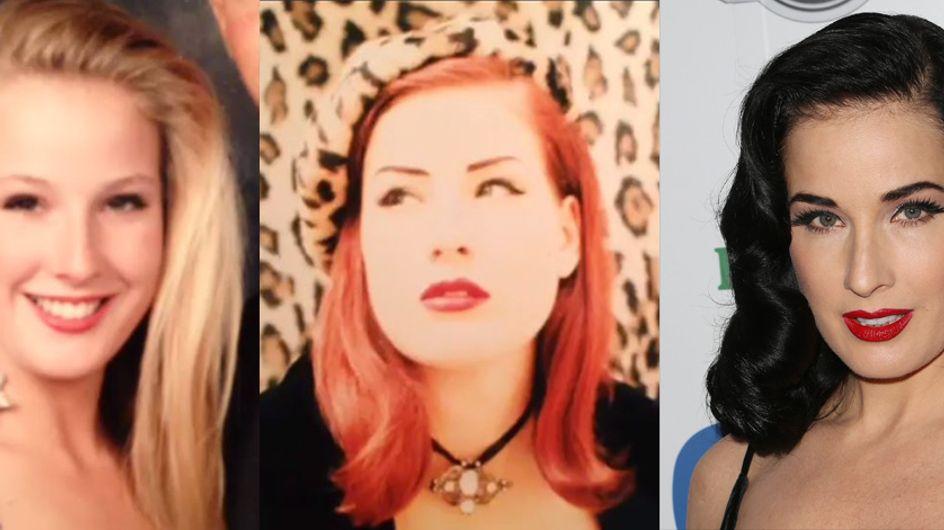 Dita Von Teese : Son incroyable transformation (Photos et Vidéo)