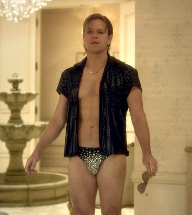 Matt Damon dans Liberace