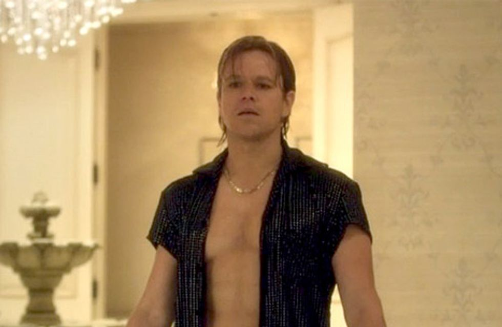 Matt Damon en slip à strass, la vision anti-sexy ! (Photos)