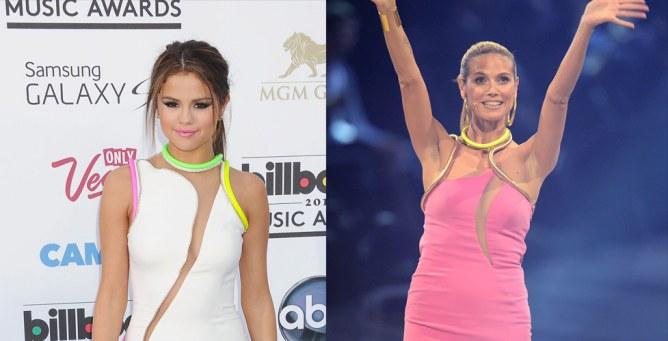 Selena Gomez vs Heidi Klum