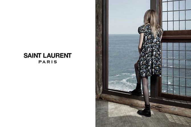 Cara Delevingne stars in Saint Laurent Autumn campaign