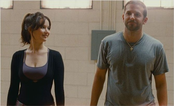 Jennifer Lawrence et Bradley Cooper, Happiness Therapy
