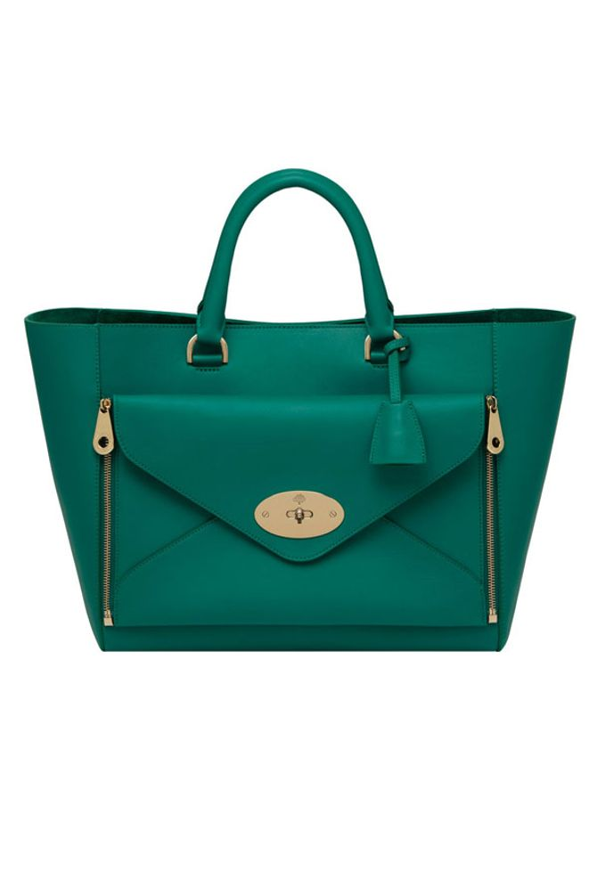 Mulberry reveal their latest collection of colour pop bags