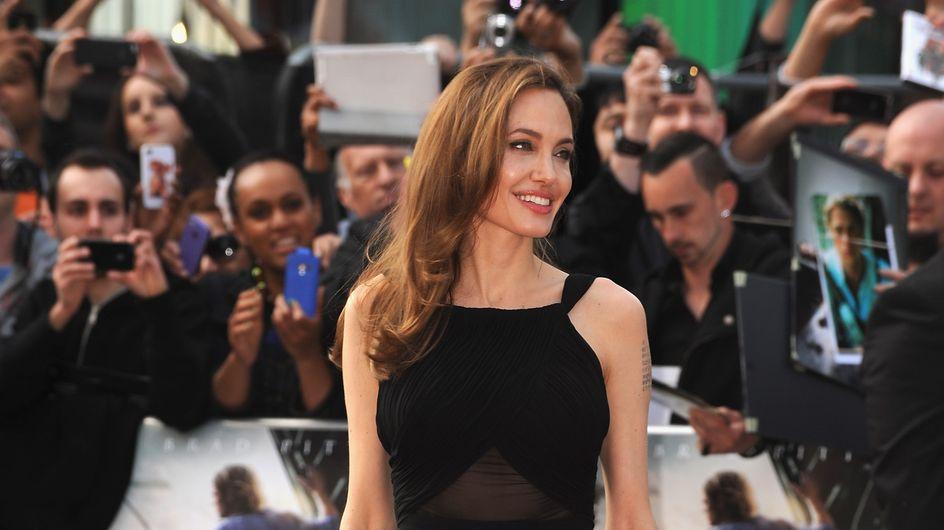 Angelina Jolie : Sa première apparition publique après sa mastectomie (Photos)