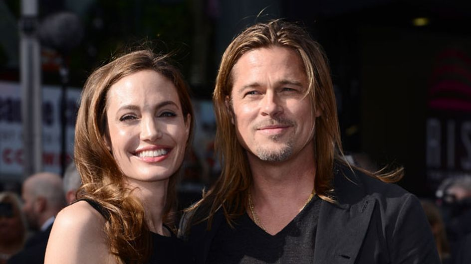 Angelina Jolie makes first public appearance with Brad Pitt after double mastectomy