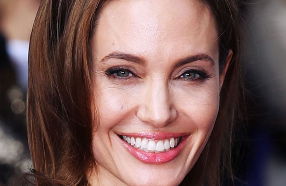 Angelina Jolie wows in Yves Saint Laurent