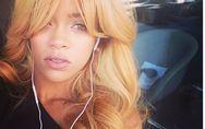 Rihanna, de nouvelles photos d'elle en blonde !