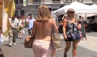 New York : Seins nus autorisés pour les femmes cet été (Vidéo)