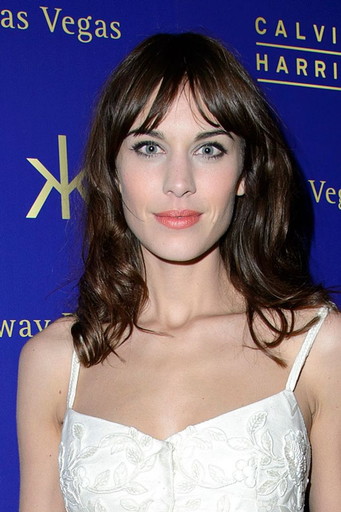 Alexa Chung hair: First look at her L'Oreal campaign!