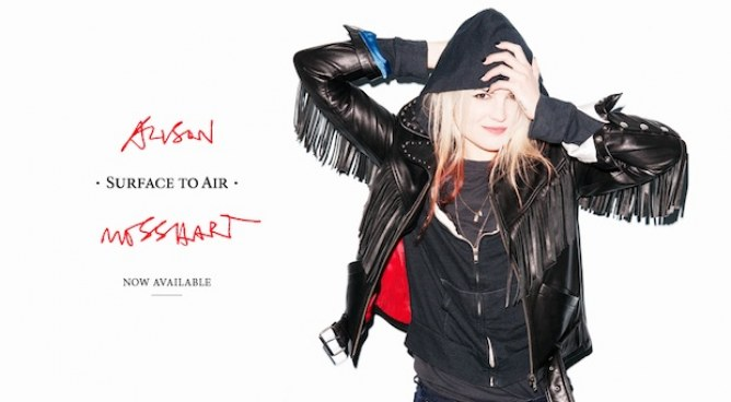 Alison Mosshart pour Surface To Air