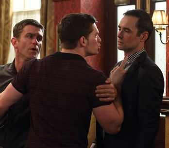 EastEnders 14/06 - Joey punches Michael in the face
