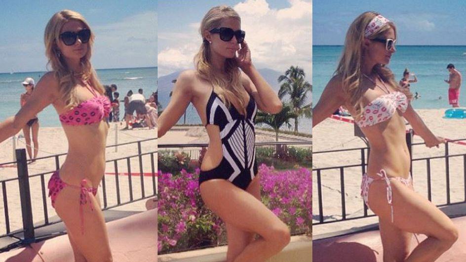 Paris Hilton : Ses bikinis les plus sexy (Photos)