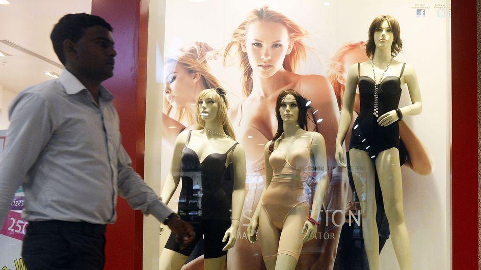 India target underdressed shop mannequins in anti-rape effort
